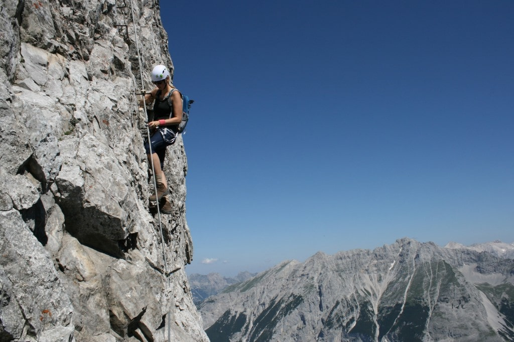 Climbing gives you great views and new perspectives.