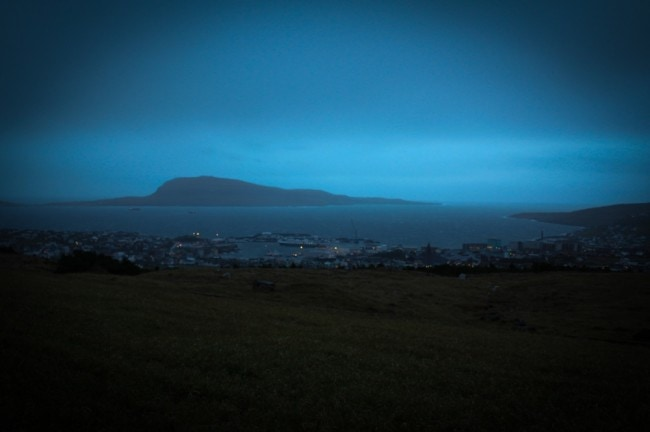 Good night and good luck, Tórshavn.